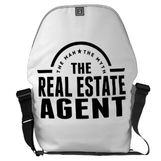 The Man The Myth The Real Estate Agent Courier Bags