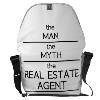 The Man The Myth The Real Estate Agent Messenger Bag