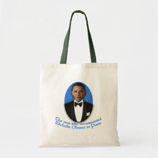 The Man Who Accompanied Michelle Obama to Paris Budget Tote Bag