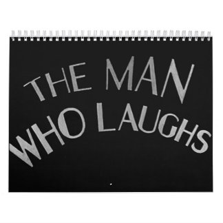 The Man Who Laughs 1928 #2 Calendar