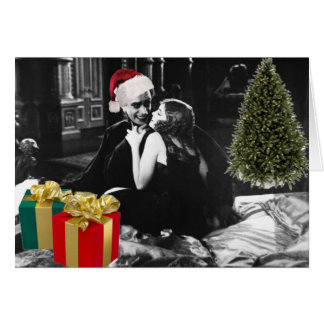 The Man Who Laughs at Christmas with Love Card