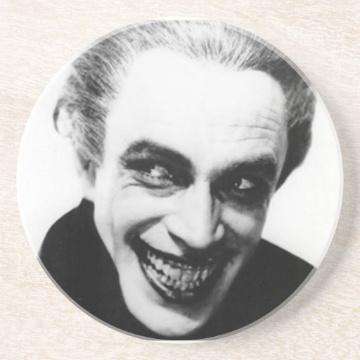 The Man Who Laughs Coaster