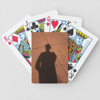 The Man Who wasn't There Bicycle Playing Cards