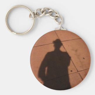 The Man Who wasn't There Keychain