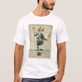 The Man with Six Heads', caricature of Charles T-Shirt
