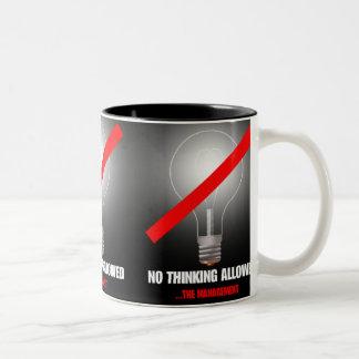 THE MANAGEMENT Two-Tone COFFEE MUG