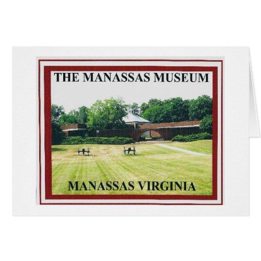 THE MANASSAS MUSEUM GREETING CARD
