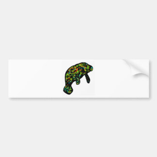 THE MANATEE GRACE CAR BUMPER STICKER