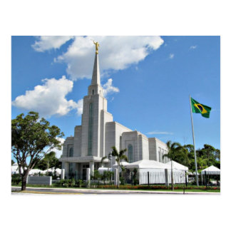The Manaus Brazil LDS Temple Postcard