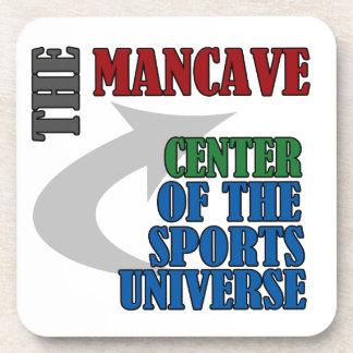 The Mancave Beverage Coasters