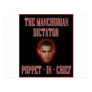 The Manchurian Dictator Postcard