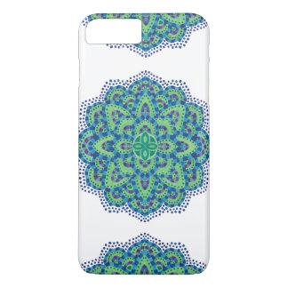 The Mandala-Cool Emerald iPhone 8 Plus/7 Plus Case