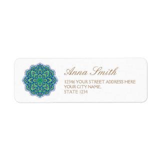 The Mandala-Cool Emerald Label