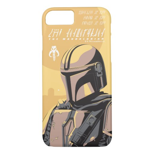 The Mandalorian Canons of Honor Graphic iPhone 8/7 Case