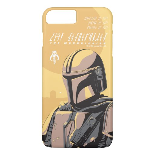 The Mandalorian Canons of Honor Graphic iPhone 8 Plus/7 Plus Case