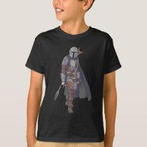 The Mandalorian Character Art T-Shirt