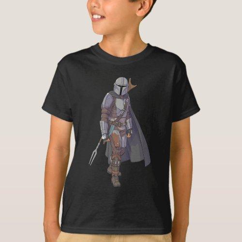 The Mandalorian Character Art T_Shirt