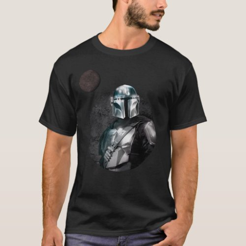 The Mandalorian Dark Planet Graphic T_Shirt