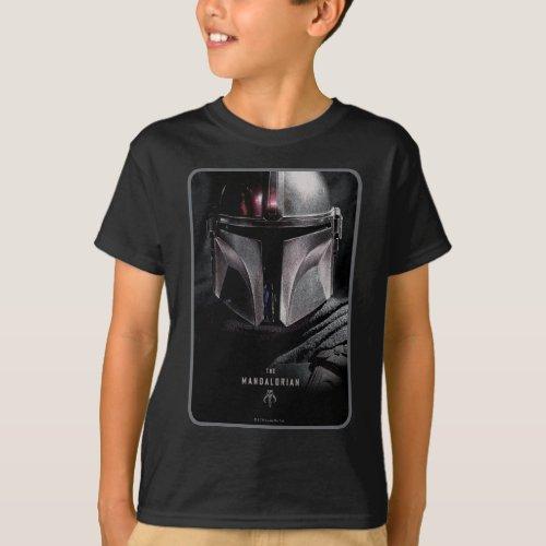 The Mandalorian Emerging From Shadows T_Shirt