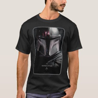 The Mandalorian Emerging From Shadows T-Shirt