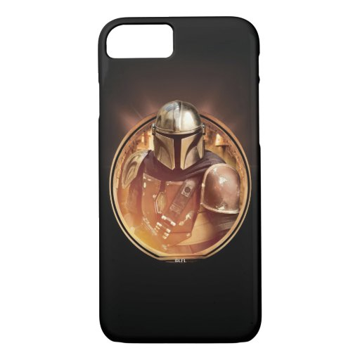 The Mandalorian Golden Badge iPhone 8/7 Case