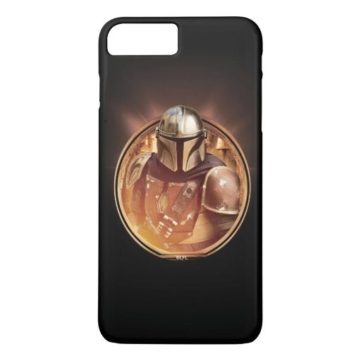 The Mandalorian Golden Badge iPhone 8 Plus/7 Plus Case