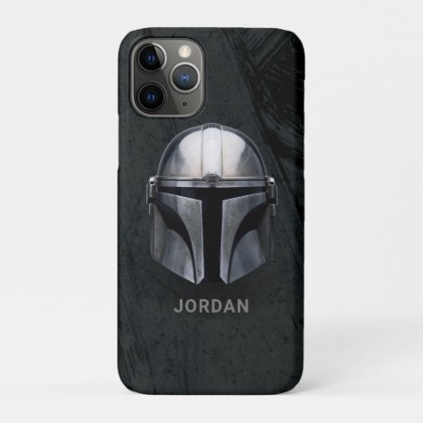 The Mandalorian Helmet iPhone 11 Pro Case