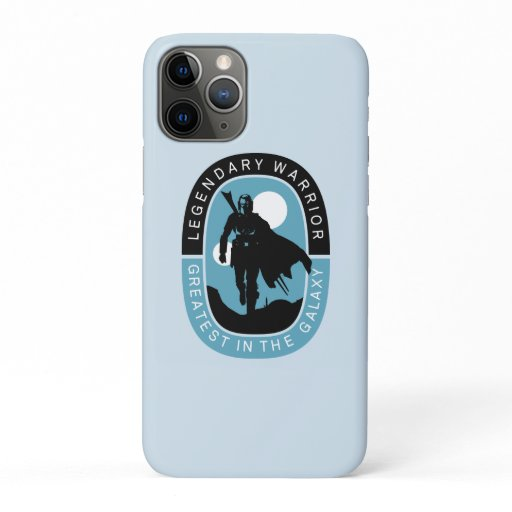 The Mandalorian | Legendary Warrior, Greatest in t iPhone 11 Pro Case
