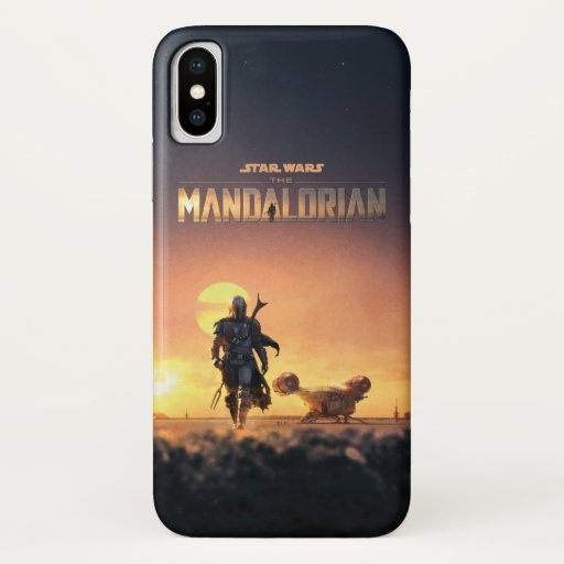 The Mandalorian | Man of Mystery Poster iPhone X Case