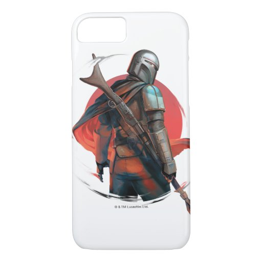 The Mandalorian Stylized Character Art iPhone 8/7 Case