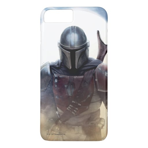 The Mandalorian Walking Through Desert Dust iPhone 8 Plus/7 Plus Case