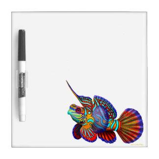 The Mandarin Dragonet Goby Fish Dry Erase Board