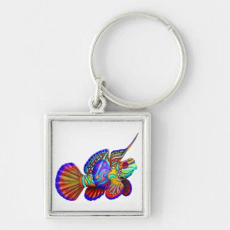 The Mandarin Dragonet Goby Fish Keychain