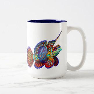 The Mandarin Dragonet Goby Fish Mug