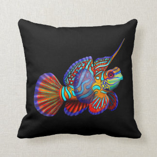 The Mandarin Goby Dragonet Fish Pillow