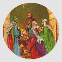 The Manger Stickers