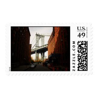 The Manhattan Bridge, A Street View Postage