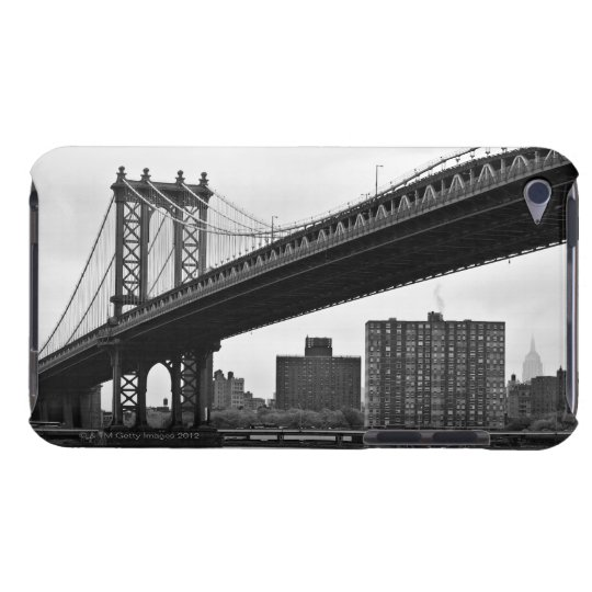 The Manhattan Bridge in New York City Barely There iPod Case