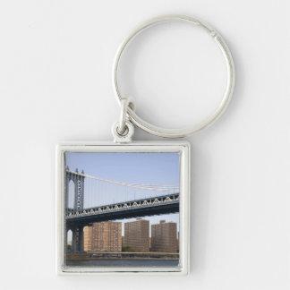 The Manhattan Bridge spanning the East River Key Chains