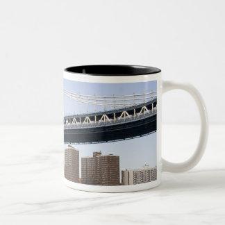 The Manhattan Bridge spanning the East River Mugs