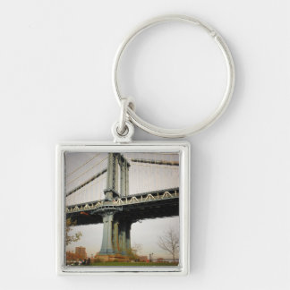 The Manhattan Bridge, View from Brooklyn Keychain