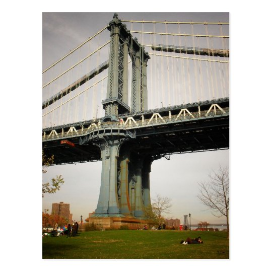 The Manhattan Bridge, View from Brooklyn Postcard