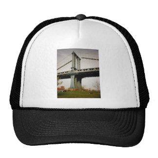 The Manhattan Bridge, View from Brooklyn Trucker Hat