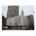 The Manhattan New York LDS Temple Postcard