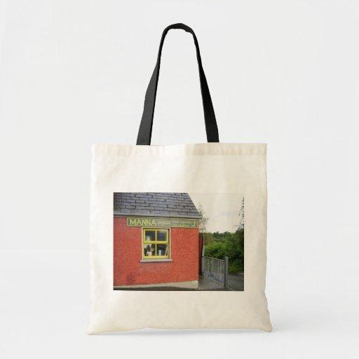 "The ""Manna"" Organic Shop In Kilcullen, Co. Kildare Budget Tote Bag"