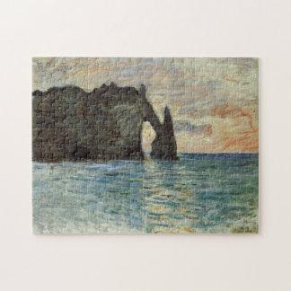The Manneport, Cliff at Étretat Monet Fine Art Puzzle