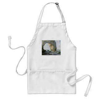 The Manneporte by Claude Monet Aprons