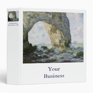 The Manneporte by Claude Monet Binder