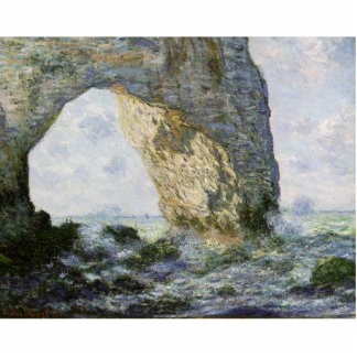 The Manneporte by Claude Monet Photo Cut Outs