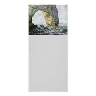 The Manneporte by Claude Monet Rack Card